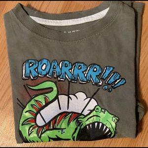 Jumping Beans green dinosaur short sleeve T-shirt